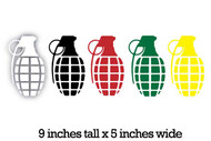 Grenade Stickers