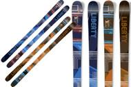 Liberty LTE Twintip Skis 2011