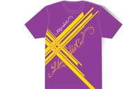 Liberty Almost Plaid Tshirt Purple