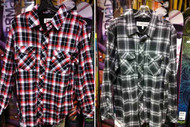 Grenade Northwest Plaid Button Up Shirt
