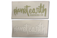 Planet Earth Diecut Stickers
