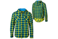 Nomis Lumber Jack Fannel Hooded Shirt