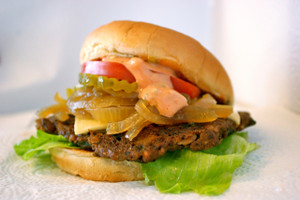 The Tepa Veggie Burger