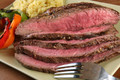 Organic Grass Fed Beef Flank Steak
