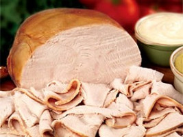 Turkey Ham Deli Meat - Sliced