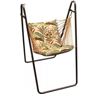Swing Chair and Stand Combination in Maltese Fern