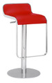 Equino Bar Stool in Red