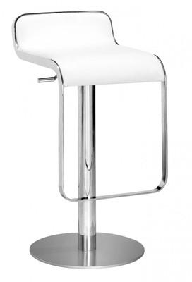 Equino Bar Stool in White