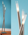 Icicle Modern Contemporary Halogen Floor Lamp