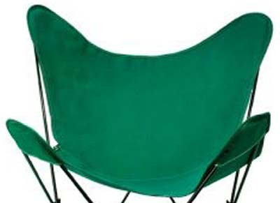 Butterfly Chair Replacement Cover - Hunter Green Cotton Duck