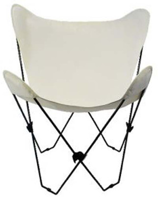 Butterfly Chair with Natural Cotton Duck Cover Black Frame