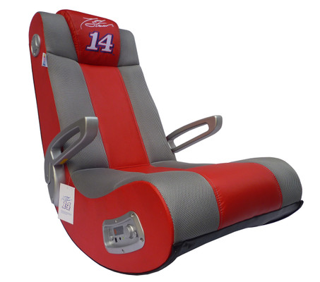V Rocker SE Tony Stewart Red Racing Stripes Gaming Chair