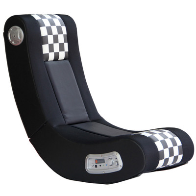 X-Rocker Drift Checkered Flag 2.1 Wireless Audio Gaming Chair