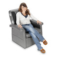 X Rocker Storage Flip 2.1 Chair with Speakers and Subwoofer
