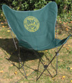US Army Butterfly Chair with Black Frame