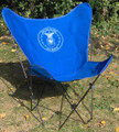US Air Force Butterfly Chair with Black Frame