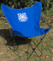 US Coast Guard Butterfly Chair with Black Frame