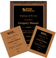 Laminate Recognition Award Plaque - Multiple Size Options