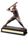 "Baseball Gallery Resin Sculpture 15"" Tall"