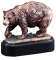 "Brown Bear Gallery Resin Sculpture 6.5"" Tall"