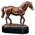 "Lipizzaner Stallion Gallery Resin Sculpture 5.5"" Tall"
