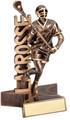 "Lacrosse Superstar Resin Sculpture Male 6.5"" Tall"