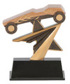 "Pinewood Derby Power Star Resin Award 7"" Tall"