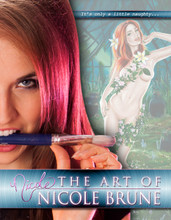 The Art of Nicole Brune front cover