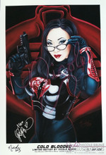 Cold Blooded Limited Edition signed by Nicole Brune and Yaya Han