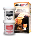 System Three SculpWood Moldable Epoxy Putty (1 Quart)