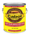 Cabot Solid Color Acrylic Deck Stain Gallon