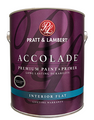 Pratt & Lambert Accolade Premium Interior Acrylic Latex Flat Gallon