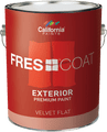California Fres-Coat Exterior Velvet Flat  Gallon