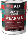 FIXALL WEARALL Aluminum Alkyd Enamel High Gloss Gallon