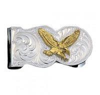 Montana Silversmiths   Eagle Scalloped Money Clip