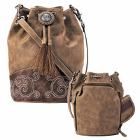 Blazin Roxx Molly Brown Bucket Bag