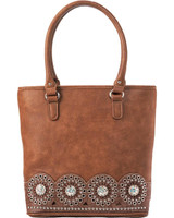 Blazin Roxx Western Handbag Womens Rhianna Tote Bag Brown