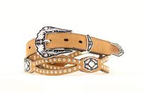 Nocona Ladies Tapered Belt Brown