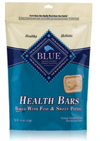 Blue Buffalo Fish and Sweet Potato Health Bars Dog Treat