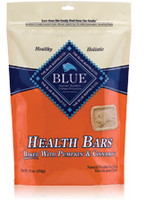 Blue Buffalo Pumpkin and Cinnamon Health Bars Dog Treat
