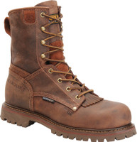 "Carolina Men's 8"" Waterproof Composite Toe Work Boot - Brown"