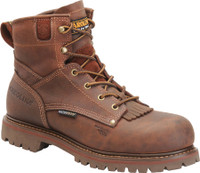"Carolina Men's 6"" Waterproof Composite Toe Work Boot - Brown"