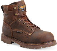 Carolina Men's 6'' Waterproof Insulated Composite Toe Work Boots - Brown