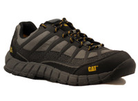 Cat Men's Streamline Composite Toe Work Shoe - Charcoal and Black
