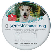Seresto Flea & Tick Collar for Dogs Under 18lbs