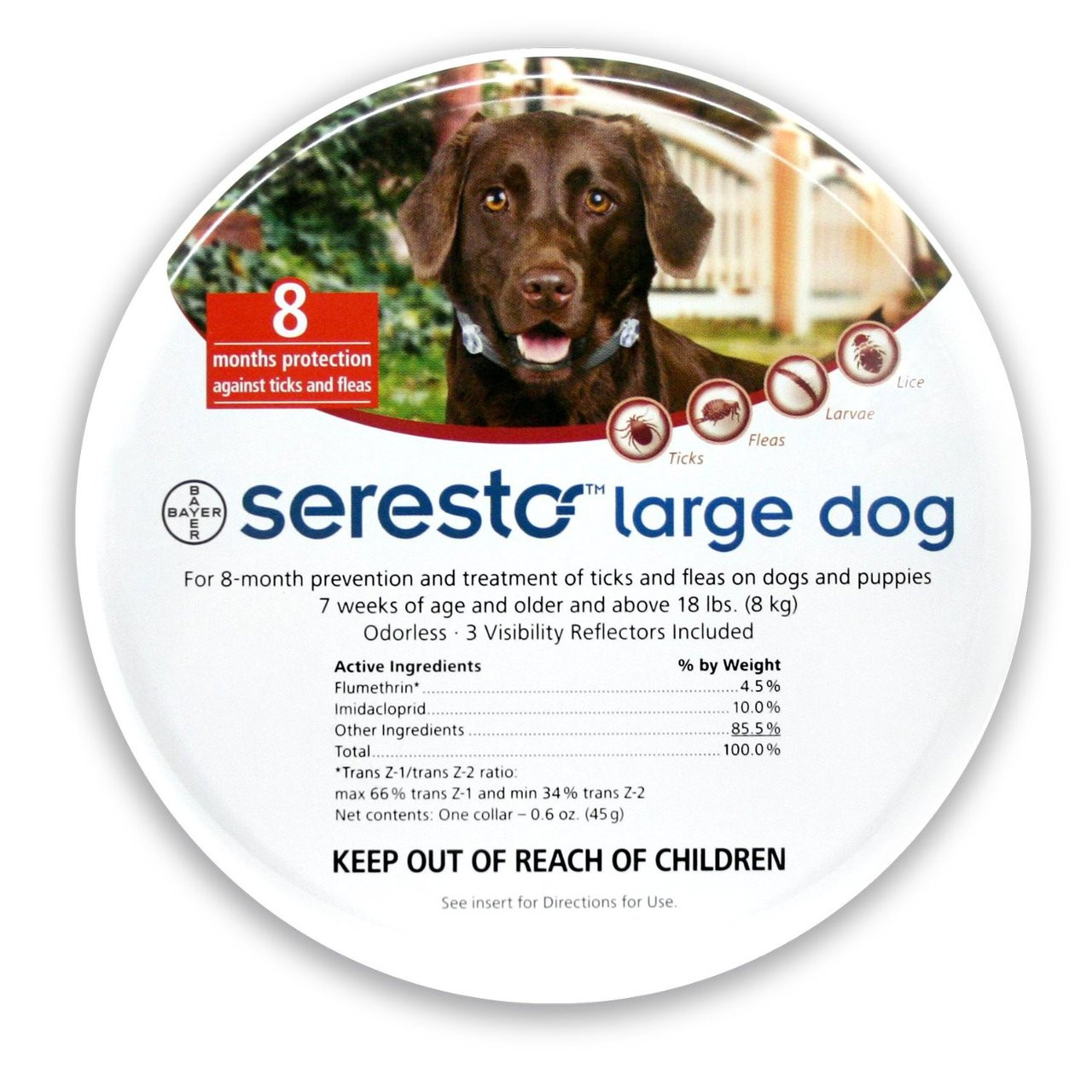 Seresto Large Dog Collar