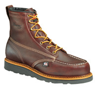 "Thorogood Men's Heritage Non Safty Toe 6"" Moc Toe Work Boots - Brown"