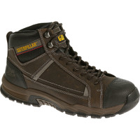 Cat Men's Regulator Steel Toe 6in Work Boot - Brown