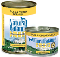 Natural Balance Duck and Sweet Potato Canned Dog Food 13oz