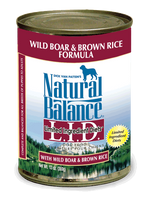 Natural Balance Wild Boar Canned Dog Food 13oz